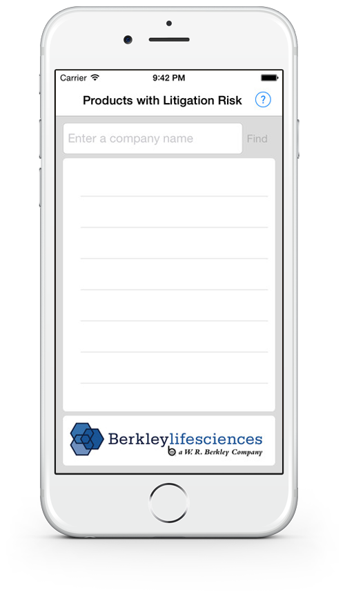 Berkley Life Sciences Mobile App